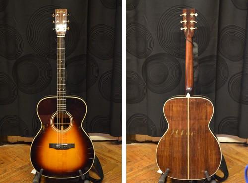 Guitare Eastman E80M, janv 2014