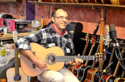 Eddie avec l'Amalio Burguet Méditérranéo, oct. 2012